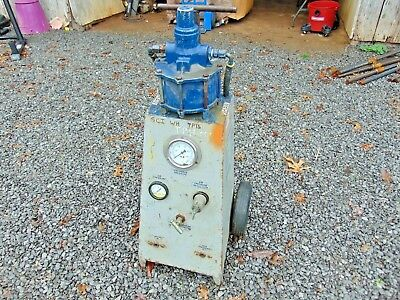 Portable Hydrostatic Test Pump, PDQC 10,000 psi Liquid Pressure System Tool