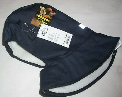 Black Stallion WL300 Winter Hardhat Liner w Neck Protect Sherpa Pile Lining OSFA