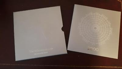 (B301)  2000 Royal Mint Millennium Dome Mint Mark Anno Domini £5 COIN PACK