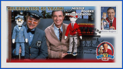 Fred Rogers and Mister Rogers Neighborhood (5275) - USPS First Day Cover #014