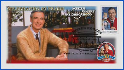 Fred Rogers and Mister Rogers Neighborhood (5275) - USPS First Day Cover #019