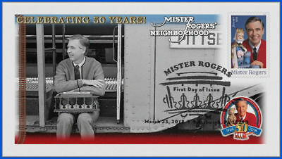 Fred Rogers and Mister Rogers Neighborhood (5275) - USPS First Day Cover #010