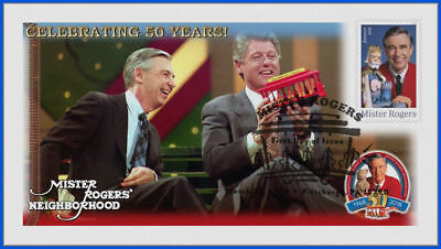 Fred Rogers and Mister Rogers Neighborhood (5275) - USPS First Day Cover #023