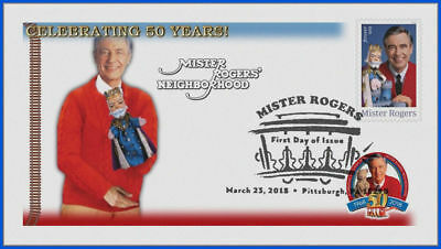 Fred Rogers and Mister Rogers Neighborhood (5275) - USPS First Day Cover #009