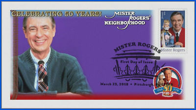 Fred Rogers and Mister Rogers Neighborhood (5275) - USPS First Day Cover #017