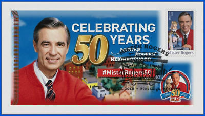 Fred Rogers and Mister Rogers Neighborhood (5275) - USPS First Day Cover #005