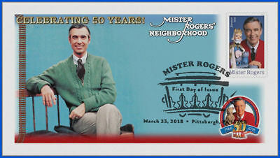 Fred Rogers and Mister Rogers Neighborhood (5275) - USPS First Day Cover #022