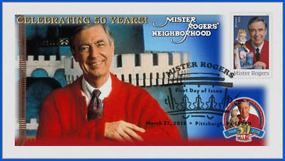 Fred Rogers and Mister Rogers Neighborhood (5275) - USPS First Day Cover #011