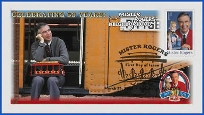 Fred Rogers and Mister Rogers Neighborhood (5275) - USPS First Day Cover #025