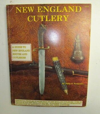 1986 New England Cutlery Knife Book by Phillip Pankiewicz 1st Edition