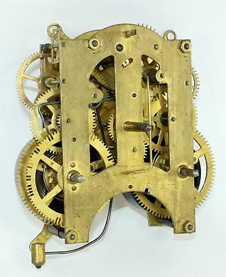 Ansonia 8 Day Time And Strike Clock Movement - For Parts Or Repair - Sp208