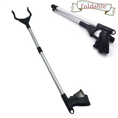 Lightweight Grabber Long Reach Arm Extension Tool Foldable Pick Up Hand Grabber