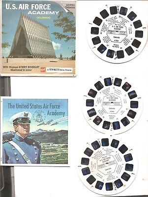 Us Air Force Academy Viewmaster Reels + Booklet, Colorado