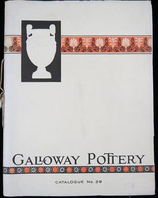 c. 1910-1920 Galloway Pottery Company Illustrated Catalog - 52 Pages