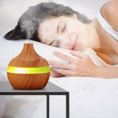 LED Ultrasonic Aroma Diffuser Essential Oil Humidifier Aromatherapy Purifier