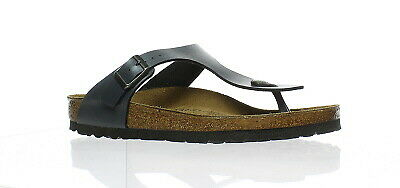 BIRKENSTOCK US 8 EU 39 Betula Gizeh black suede thong style