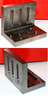"SCT 4 1/2 "" Angle Plate Open End For Milling Machine Lathe etc From Chronos"
