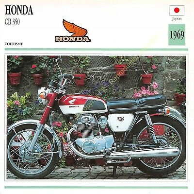Fiche Photo Moto Japon Japan HONDA 125 bicylindre RC 145 1962 Edit Edito Service