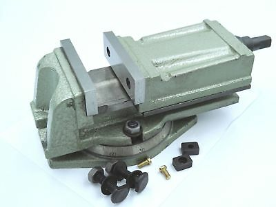 """SCT Precision Milling Vice with Swivel Base 4"""" / 100 mm (Ref: 40082004)"""