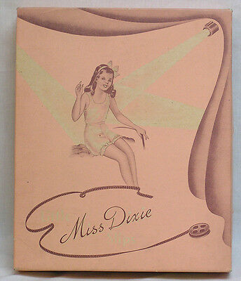 Fabulous Box for Miss Dixie Slips with Girl in Negligee with Spotlight & Film !