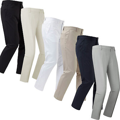 FootJoy Mens Trousers Performance Slim Tapered Fit Golf Pants