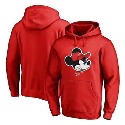 31f0b12be Carolina Hurricanes Fanatics Branded Disney Game Face Pullover Hoodie - Red