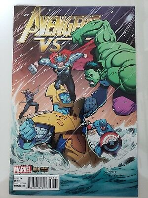 The Avengers Vs. #1 One-Shot Special (2015) Giant-Size Marvel Comics Variant Cov