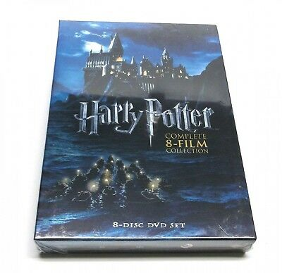 "Harry Potter: Complete 8-Film Collection (DVD, 2011, 8-Disc Set) ""Brand New"""