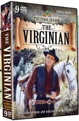 THE VIRGINIAN THE FINAL SEASON Sealed New 9 DVD Set Season Eight 8