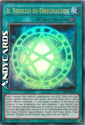 IL SIGILLO DI ORICHALCOS (The Seal Of Orichalcos) • Ultra R • DRL3 IT070 Yugioh