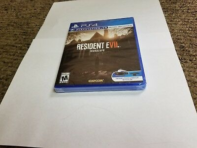 Resident Evil 7 Biohazard (Sony PlayStation 4, 2017) ps4 new (VR Mode Included)
