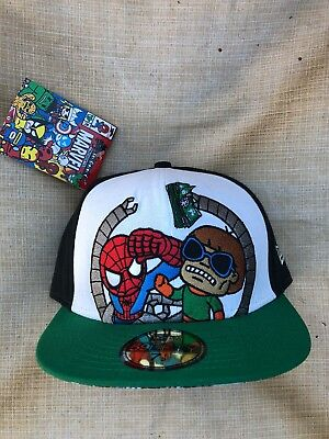 d66be8606a3 TOKIDOKI NEW ERA 59Fifty Marvel Comics Fitted Cap Hat 7 5 8 -  19.99 ...