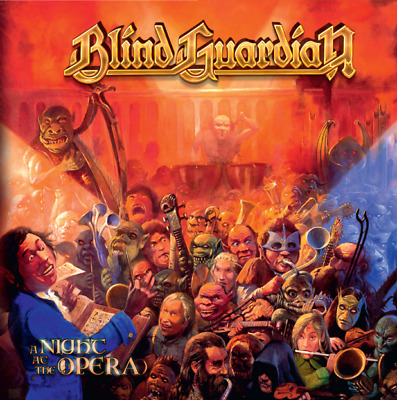 Blind Guardian NIGHT AT THE OPERA 7th Album LIMITED New Orange Colored Vinyl LP