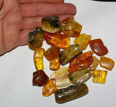 Beautiful, big pieces genuine Baltic amber