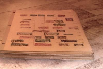 BOLIVIA  Large Collection / Accumulation OVER 1000 Used Stamps on 13 Stock pages