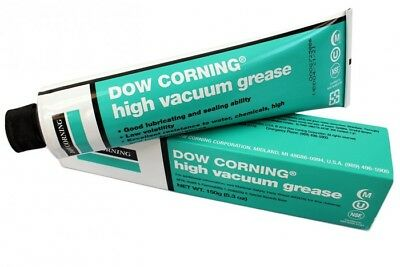 Dow Corning High Vacuum Grease Lubricates Heavy-Consistency 5.3 Ounce Tube