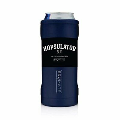 Hopsulator Insulated Can Cooler Double-walled Stainless Steel 12 Oz Slim Cans