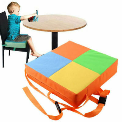 Kids Dining Chair Cover Child Increased Highchair Pad Baby Booster Seat Cushion