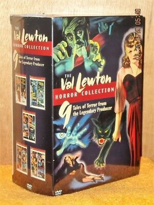 The Val Lewton Horror Collection (DVD, 2005, 5-Disc) Gunther Von Fritsch Jacques
