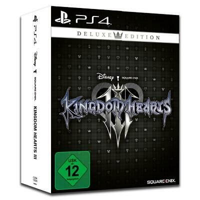 Kingdom Hearts 3 III Deluxe Edition Sony PS4 Spiel Steelbook NEU&OVP
