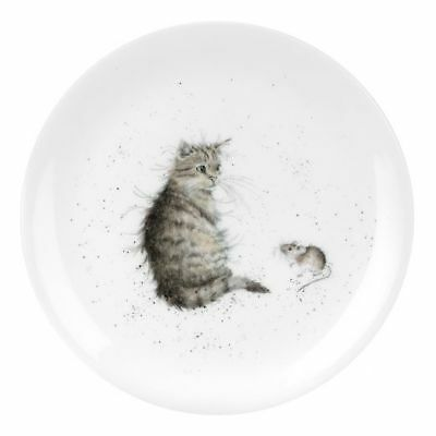 "Wrendale By Royal Worcester - 'Cat and Mouse' 8"" Coupe Plate"
