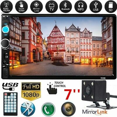 7010B 7 2Din HD Touch Screen Android IOS Car Stereo MP5 Player FM Radio USB/TF