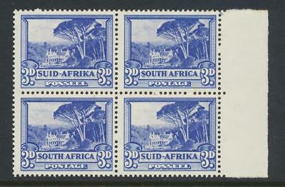 SOUTH AFRICA 1940, 3d BLOCK, VF MNH SG#59 (SEE BELOW)