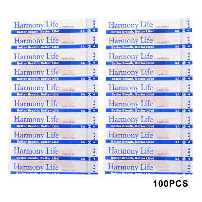 50/100PCS Nasal Strips Stickers 55x16mm Adhensive Stickers Anti-Snoring Care