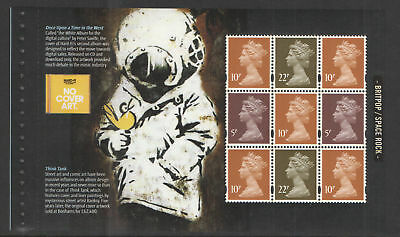 GB 2010 Classic Album Covers~Prestige Stamp Booklet Pane~4~ex DX48~MNH~UK Seller