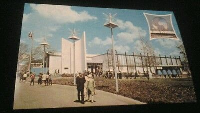 Postcard Pavilion Of Paris New York World's Fair 1964 - 1965