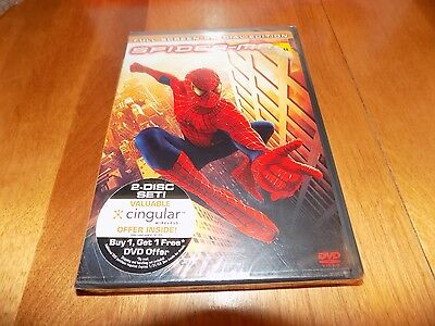 SPIDER-MAN  2-Disc Special Edition Full Screen Marvel Classic DVD SET SEALED NEW