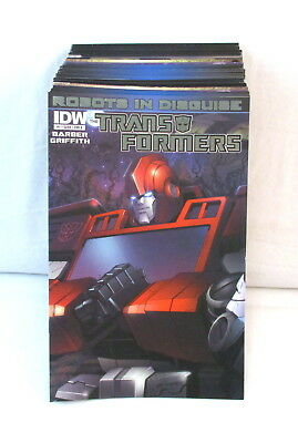 TRANSFORMERS ROBOTS IN DISGUISE #1-57 + 2012 Annual Complete Set Lot IDW
