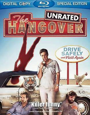 The Hangover (Blu-ray Disc, 2009, Rated/Unrated)M