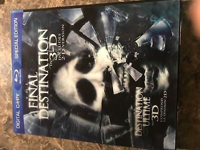 The Final Destination 3D Holigram Cover - Blu Ray Size - Slip Cover Only